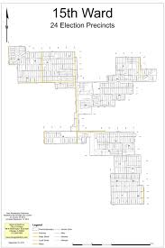 City Of Chicago Zoning Map by 15th Ward Map U2014 Www The15thward Org