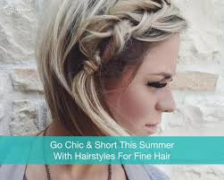 find a hairstyle using your own picture 12 chic and stylish hairstyles for short fine hair types hair la vie
