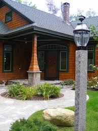 outdoor wood lamp post outdoor designs