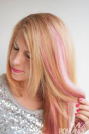 pink hair extensions hair with pink highlights hairstyles