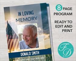Funeral Program Samples 323 Best Funeral Program Templates Images On Pinterest
