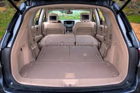nissan pathfinder leather seats folding 2nd and 3rd row seats in the all new pathfinder create a