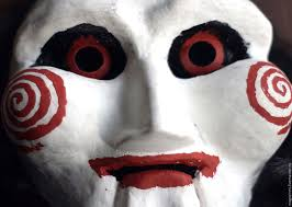 buy saw jigsaw billy the puppet mask with wig on livemaster