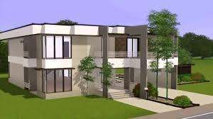 modern house floor plans modern house floor plans sims 4