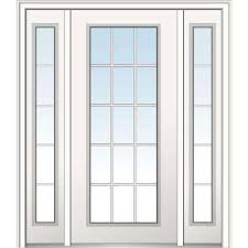 15 Lite Exterior Door Weatherstripping 15 Lite Doors With Glass Fiberglass Doors