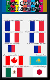 Language Meme - flags countries and languages meme by kagariexe on deviantart