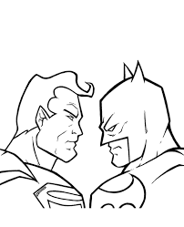 batman adults superman colouring pages 30 print color