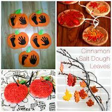 fall salt dough ornaments craft ideas crafty morning