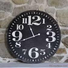 horloges cuisine horloge de cuisine style bistrot vintage