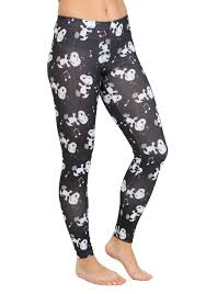 womens peanuts snoopy boogie all over leggings