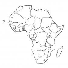 africa map doodle africa map vector free