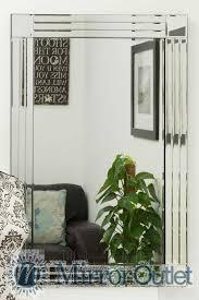 Decor Beveled Mirror Tiles Hobby Lobby Mirrors Mirrored - Mirrored backsplash