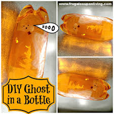 halloween ghost crafts diy halloween ghost in a bottle for the ultimate ghostbuster