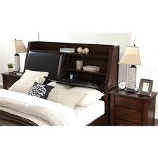 full size bedroom headboard with storage and lights contemporary full size of home
