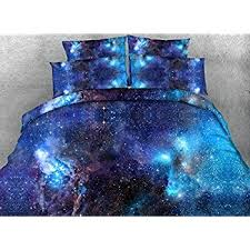 Galaxy Bed Set Comforter Sets Size Luxury Blue Galaxy Bedding 1