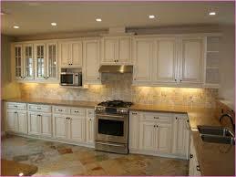 Distressed Kitchen Cabinets Vintage White Distressed Kitchen Cabinets Modern Kitchen