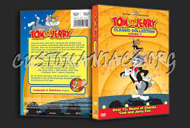 Old Rockin Chair Tom Tom And Jerry Classic Collection Volume 3 Dvd Cover Dvd Covers
