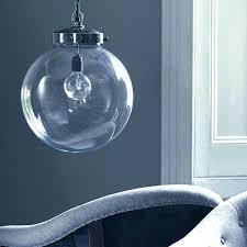 glass globes for pendant lights pendant light clear globe pendant light fixtures full image for