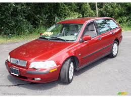 volvo 2002 2002 torch red metallic volvo v40 34319714 gtcarlot com car