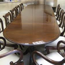12 Seater Dining Table And Chairs Hampshire Antique Restoration Furniture Restoration And