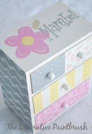 personalized girl jewelry box 9 best images about jewelry box on crafts wood and boxes