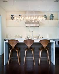 cuisine cristal cuisine suspendu îlot cristal contemporain luminaires multi
