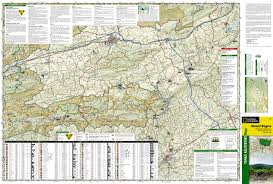 George Washington National Forest Map by Mount Rogers National Recreation Area Jefferson National Forest