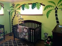 Monkey Decor For Nursery Safari Themed Nursery Safari Nursery Mural Traditional Safari