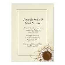 Post Wedding Invitations 862 Best Sunflower Wedding Invitations Images On Pinterest