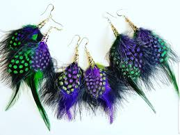 mardi gras earrings celebrate tassel earrings by designs sosis