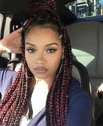 poetic justice braids hairstyles the stylish red poetic justice braids regarding hairstyle