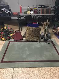custom 4 u2032 x 6 u2032 decorator rug and pad misc other items for sale