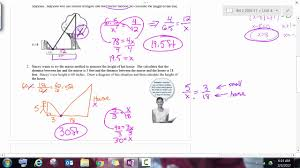 house measurements similarity word problems youtube