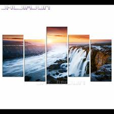 Posters Home Decor Online Get Cheap Waterfall Posters Aliexpress Com Alibaba Group