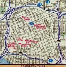 map of tulsa map index tulsa co ok