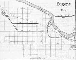 map of oregon eugene oregon maps perry castañeda map collection ut library