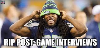Richard Sherman Memes - richard sherman memes meet the seahawk broncos fans want peyton