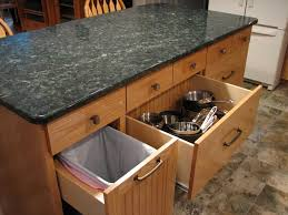 kitchen island trash bin kitchen island kitchen island with trash storage regarding