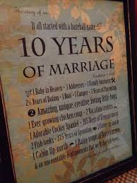 10 year wedding anniversary gift ideas best 25 10th anniversary gifts ideas on 10 year