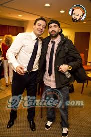 tbt djentice with jimmyfallon after the late night superbowl