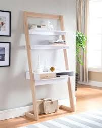 Best 25 Ladder Shelves Ideas by Desk Diy Leaning Desk Diy Leaning Ladder Desk Dimensions Diy