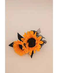 sunflower corsage prom corsages in fredericksburg thompson s westwood florist