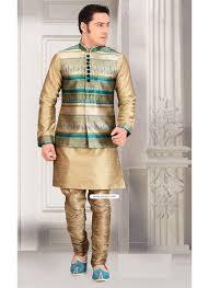 color designer buy gold color designer eid wear kurta pajama with jacket kurta