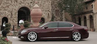 lexus ls 460 lowered niche forged ritz wheels socal custom wheels