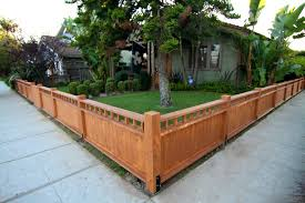Front Garden Fence Ideas Front Yard Fence Ideas Craftsman Capricornradio