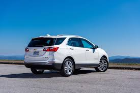 chevrolet equinox back back to back 2018 chevrolet equinox 2 0t awd premier and 1 5t fwd