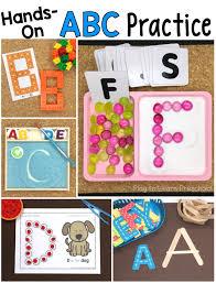 practice alphabet 10 on ways for preschoolers to practice the alphabet