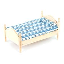bef069 1 12 scale single bed online dolls house superstore