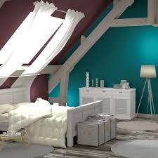 chambre sous combles couleurs chambre sous combles couleurs associer le bleu pactrole cette