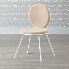 Kid Desk Chair by Kids White Upholstered Desk Chair The Land Of Nod